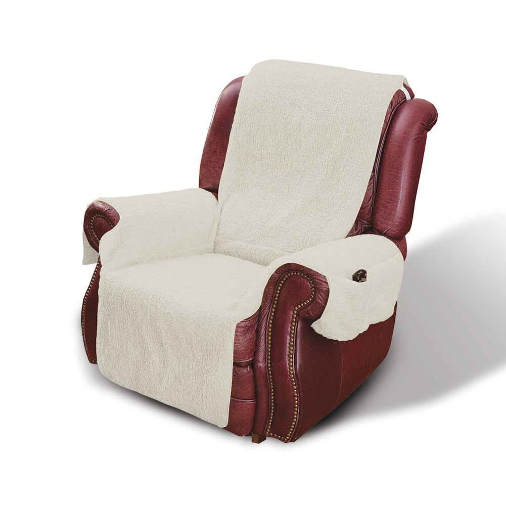 Recliner Chair Cover Protector With Pockets For Remotes And Cellphones Ebay