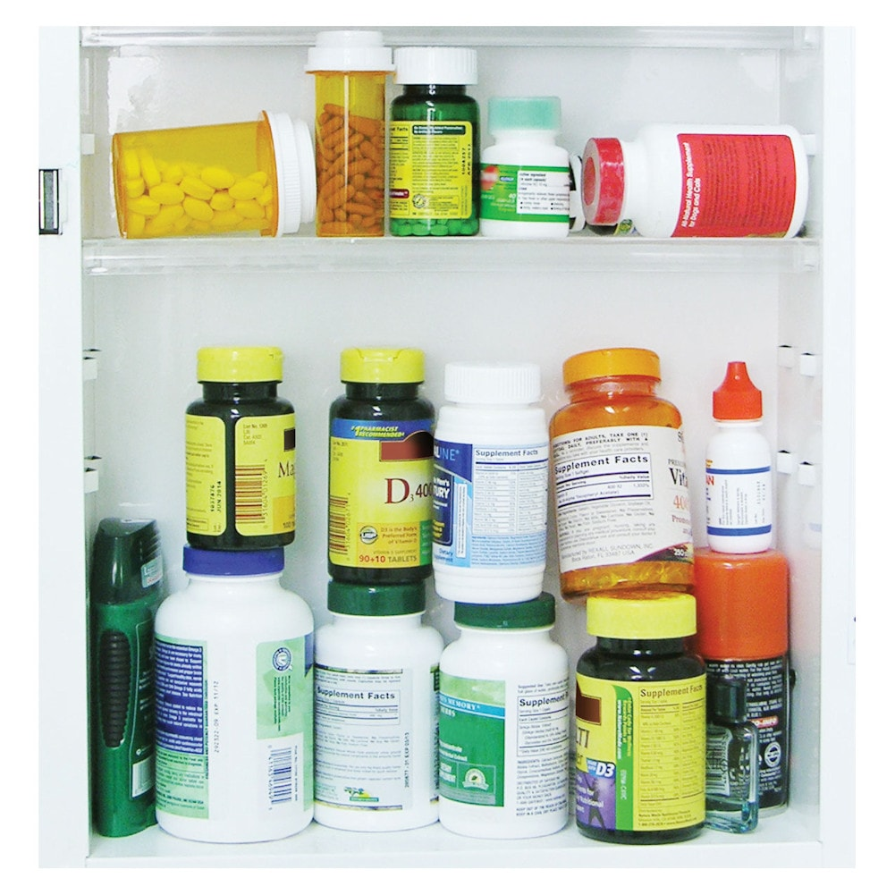31 day pill case bottle holder medicine organizer 1 for Prescription bottle holder