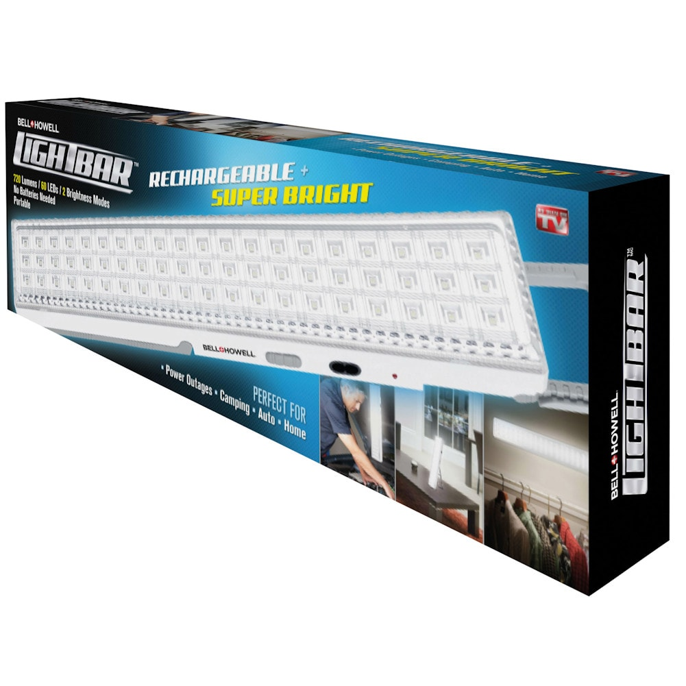 Bell howell rechargeable led light bar super bright ebay rechargeable led light bar aloadofball Images