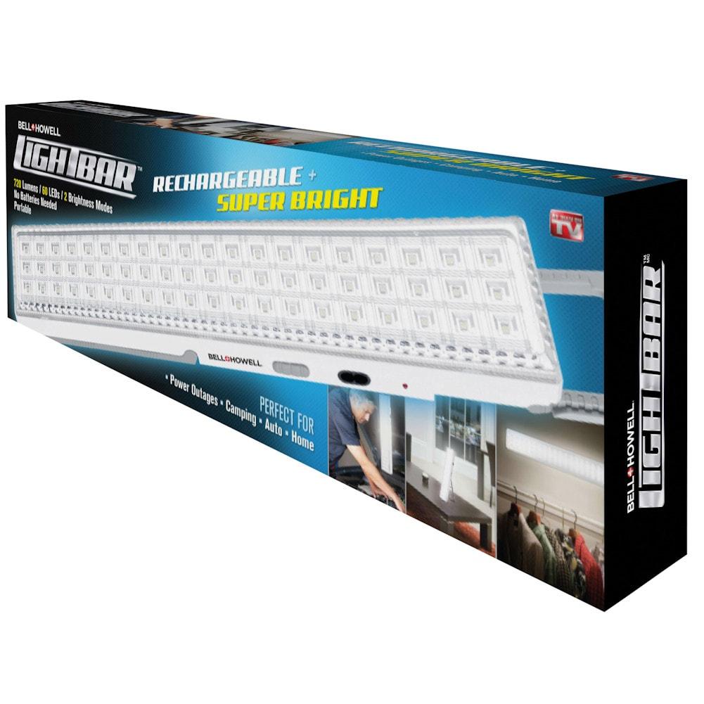 Bell + Howell Rechargeable LED Light Bar - Super Bright | eBay