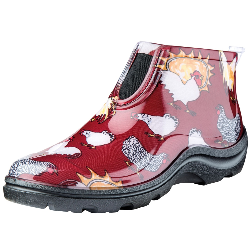 s sloggers ankle boots chicken print ebay