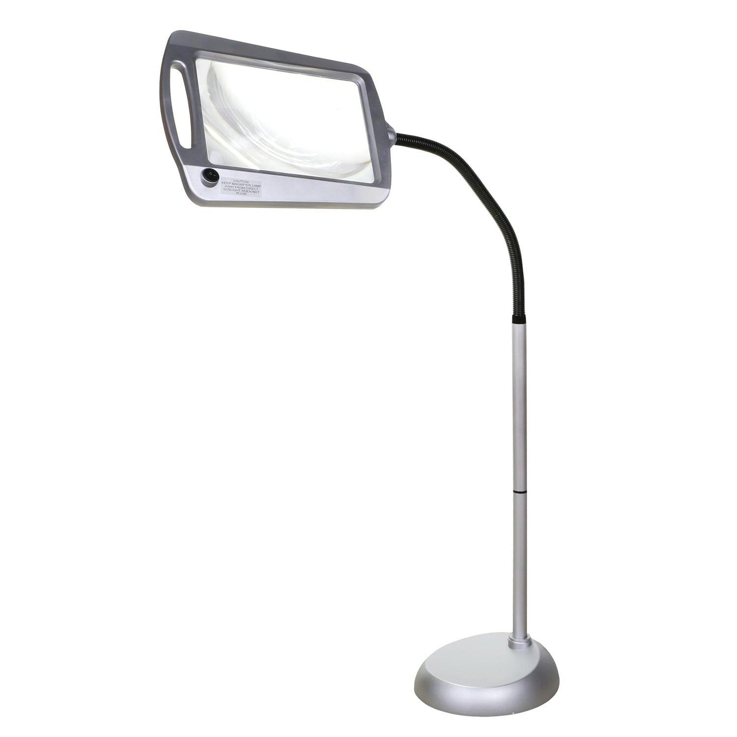 Floor Standing Led Lighted Magnifier Adjustable 3x Power Reading Crafting Aid Ebay